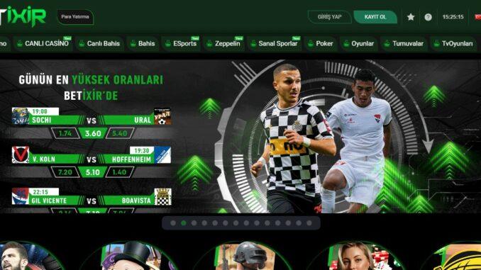 Betixir : En iyi Futbol Bahis Sitesi